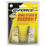 SINGLE DEAD BOLT BRASS G-FORCE