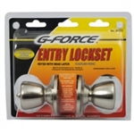 ENTRY LOCK STAINLESS G-FORCE