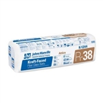 K1244 16x12x48 INSULATION KRAFT FACE R38