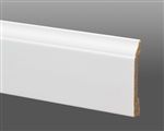 COLONIAL BASE CRYSTAL WHITE 8' MOULDING
