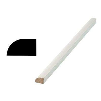 WM126 PRIMED WOOD SHOE MOULDING 8'