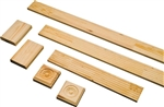 "2-1/4"" FLUTED PINE CASING SET"