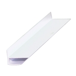 "OUTSIDE CORNER WHITE 1/8"" 8' MOULDING PW1284/891"