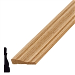 L356WE 10' OAK COLONIAL CASING 2 1/4""