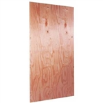 "1/2""x4x8 FIRE RETARDANT PLYWOOD ( fire treated )"
