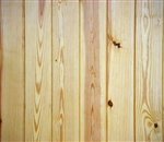 GB91 PINE KNOTTY WAINSCOT 14sq ft 8' long pcs