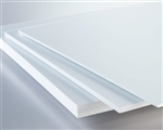 "1/2""x4x8 ROYAL WHITE PVC SHEET SMOOTH"