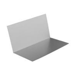 "(20pk) 4x4x8"" ALUMINUM STEP FLASHING PREBENT"