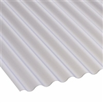 #180SBS 12' CORRUGATED FIBERGLASS CLEAR
