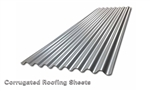 "8' x 26"" wide CORRUGATED STEEL ROOFING 29ga"
