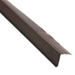 ROOF RAKE EDGE BROWN 10' ALUMINUM