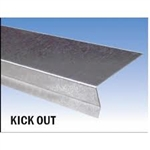 "ROOF RAKE EDGE GALVANIZED 10' (3""x 2"")"