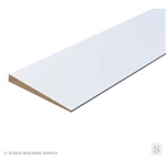 "PRIMED SIDING WOOD 1/2""x6""x16'"