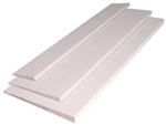 "PRIMED SIDING WOOD 1/2""x8""x16'"