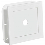 SIDING J BLOCK SQUARE WHITE