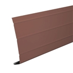 "ALUMINUM 6""x12' BROWN FASCIA"