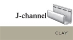 J-CHANNEL CLAY VINYL SIDING 5/8""