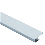 "1/2""x12' WHITE ALUMINUM J CHANNEL"