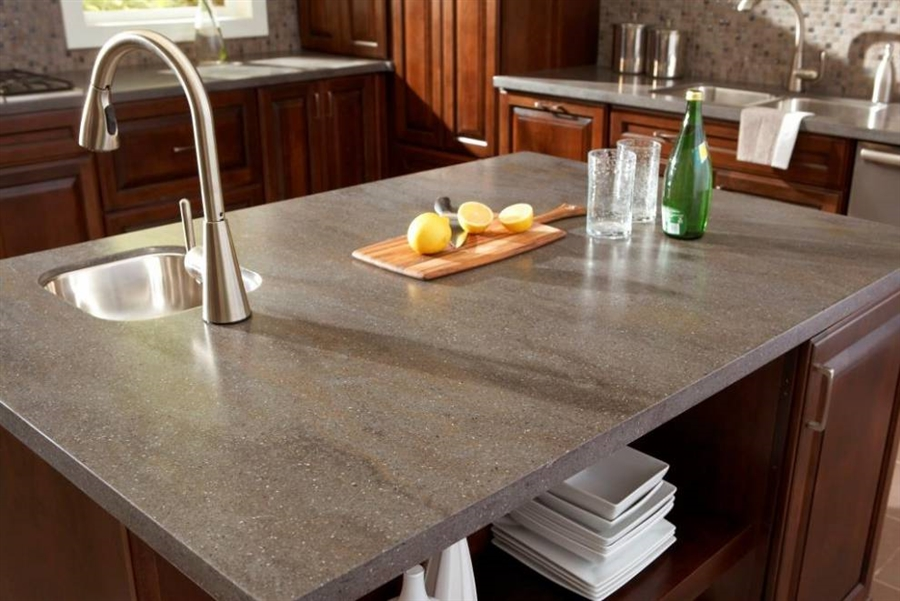 Corian Solid Surface Custom Countertop
