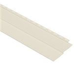 "4"" TRADITIONAL CREAM VINYL SIDING VISION PRO BY GP"