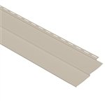 "4"" TRADITIONAL TAN VINYL SIDING VISION PRO BY GP"