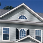 "5"" TRADITIONAL BLUE VINYL SIDING VISION PRO BY GP"
