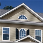 "5"" TRADITIONAL CLAY VINYL SIDING VISION PRO BY GP"