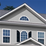 "5"" TRADITIONAL GRAY VINYL SIDING VISION PRO BY GP"