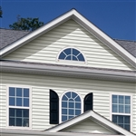 "5"" TRADITIONAL WHITE VINYL SIDING VISION PRO BY GP"