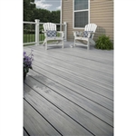 20' TREX FOGGY WHARF GROOVED DECKING