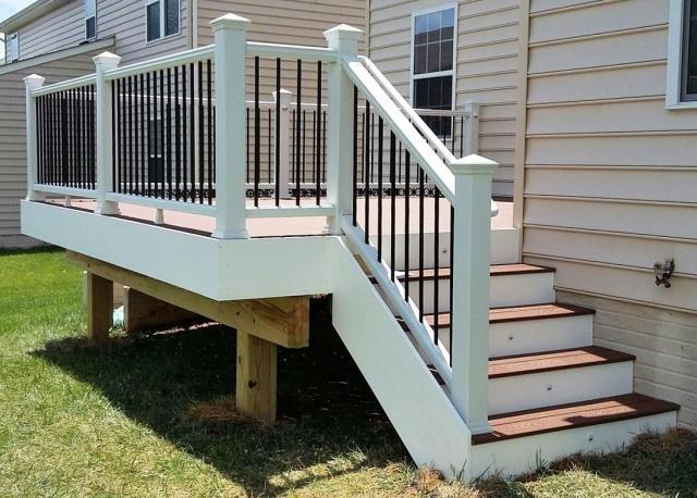 Trex Stair Rail Kit 6 Wh Bl