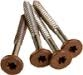 FASCIA SCREWS WALNUT TIMBERTECH