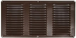 "8""x16"" SOFFIT VENT BROWN"