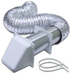 "4""x5' WALL DRYER VENT KIT"