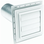 DRYER J VENT BLOCK WHITE