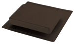 BLACK LOW PROFILE ROOF VENT PLASTIC IR61BL