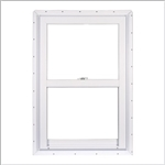24x46 WHITE VINYL WINDOW SINGLE HUNG