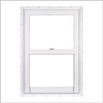 24x62.5 WHITE VINYL WINDOW SINGLE HUNG