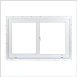 SLIDER WINDOW 36x36 WHITE VINYL