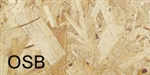 "7/16""x4'x8' OSB WAFERBOARD GRADE #2 SOLD AS IS"