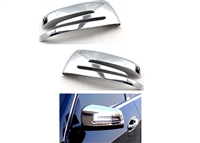 CHROME MIRROR COVERS PAIR W221/W204/W212/GLK/W216/W117/W207/GLA   #12