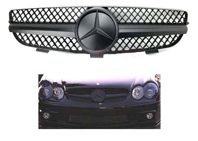 New Genuine Mercedes Benz CLK W208 AMG Front Bumper Grill Cover Trim A2088850022