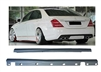 S63 SIDE SKIRTS SET S-CLASS W221 2007-2013 S550 S63 S600
