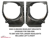 G-Wagon 90-06 Headlight Brackets To Upgrade To 07-18 Style. W463 1990-2006 G500 G55