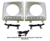 G-Wagon Daytime Running LED Headlight Bezel Primed W463 G500/G550/G55/G63