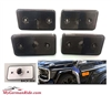 G-Wagon Smoke Side Marker Fits Front Or Rear Set Of 4 Lights 1994-2014 W463 G500/G55/G550/G63