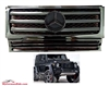 G-WAGON ALL BLACK GRILLE W/BLACK STAR W463 1990-2017 G500 G55 G550 G63