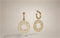 Convertible Earrings - Hoop & Dangle