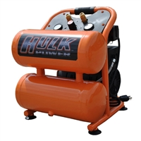 Hulk 1hp 4gal Quiet Commercial Oil Free Air Compressor
