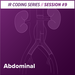 Abdominal Interventional Radiology Coding